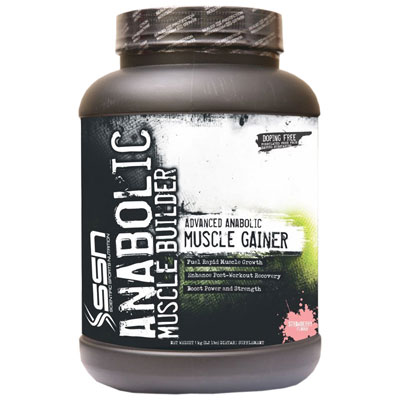 SSN Anabolic Muscle Builder XXXL 2.2 Lbs (Strawberry)
