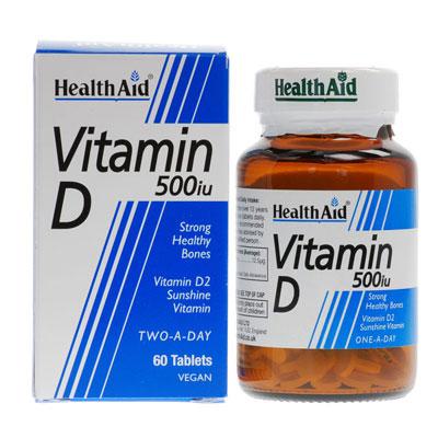 Health Aid Vitamin 500IU