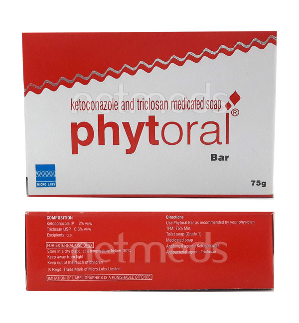 phytoral bar 75g pack of 3