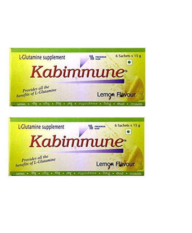 Kabimmune Powder Natural LemonFlavour  15g  Pack Of 2