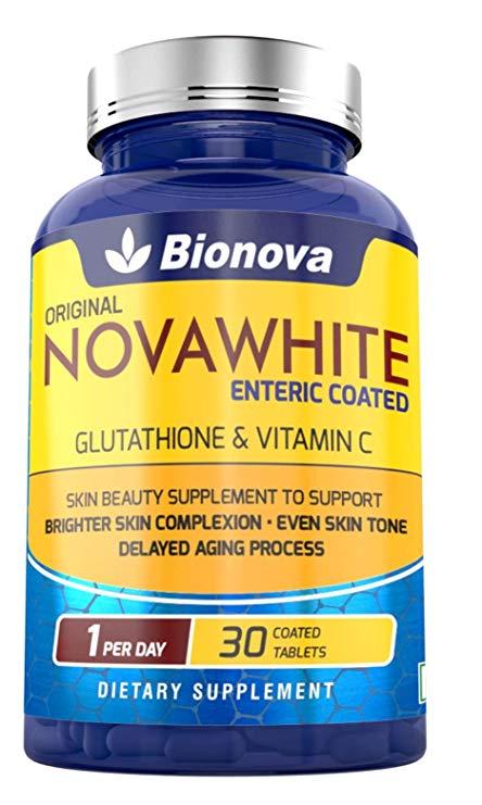 Bionova Novawhite Glutathione Tablet with Vitamin C 30 Tablets