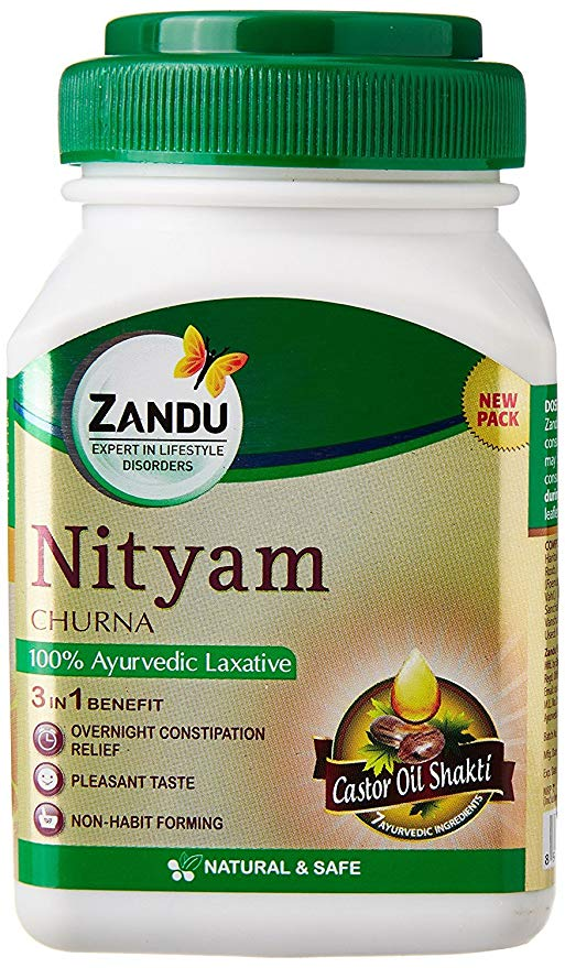 Zandu Nityam Churna  50G PACK OF 4