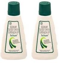 Selsun Suspension Anti Dandruff Shampoo 60 Ml PACK OF 2