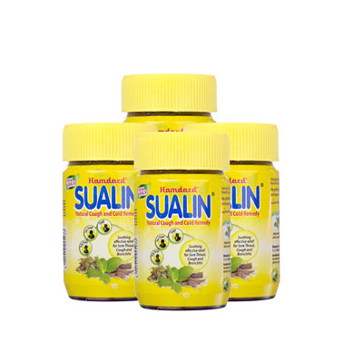SUALIN  Natural Couch And Cold Remedy 60 Cap Pack of 3