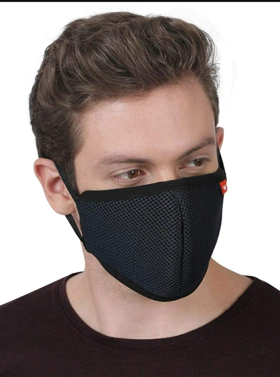 wild craft black face mask (pack of 2)