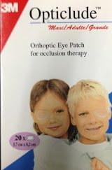 3m 1539 Opticlude Eye Patch 3 14 x 2 14 Pack of 20