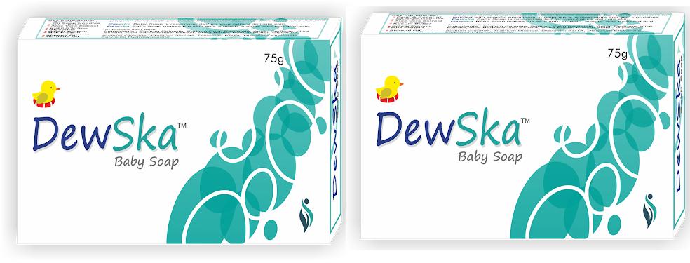 Dewska Baby Soap 75g Pack Of 2