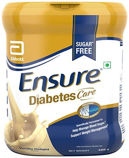 Ensure Diabetes Care Adult Nutrition Health Drink 400g Vanilla