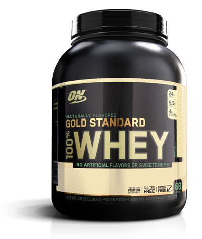 Optimum Nutrition Gold Standard Natural 100Perc Whey - 5 lbs (Chocolate)