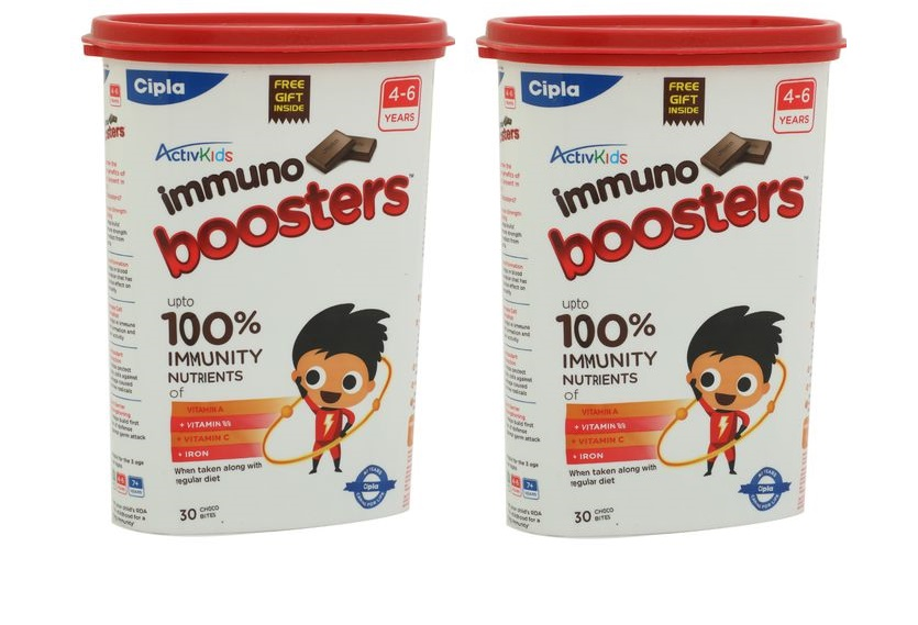 Activkids Cipla Immuno Boosters for 4-6Years - 360g (30 Count)