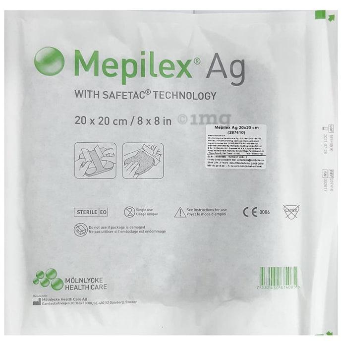 MEPILEX AG 20x20CM 287410  PACK OF 5
