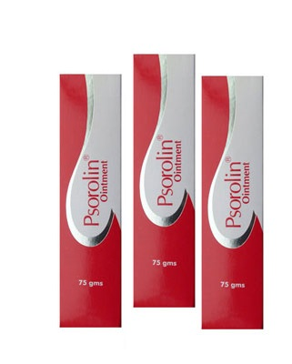 Psorolin Ointment 75g  For Psoriasis  Pack Of 3