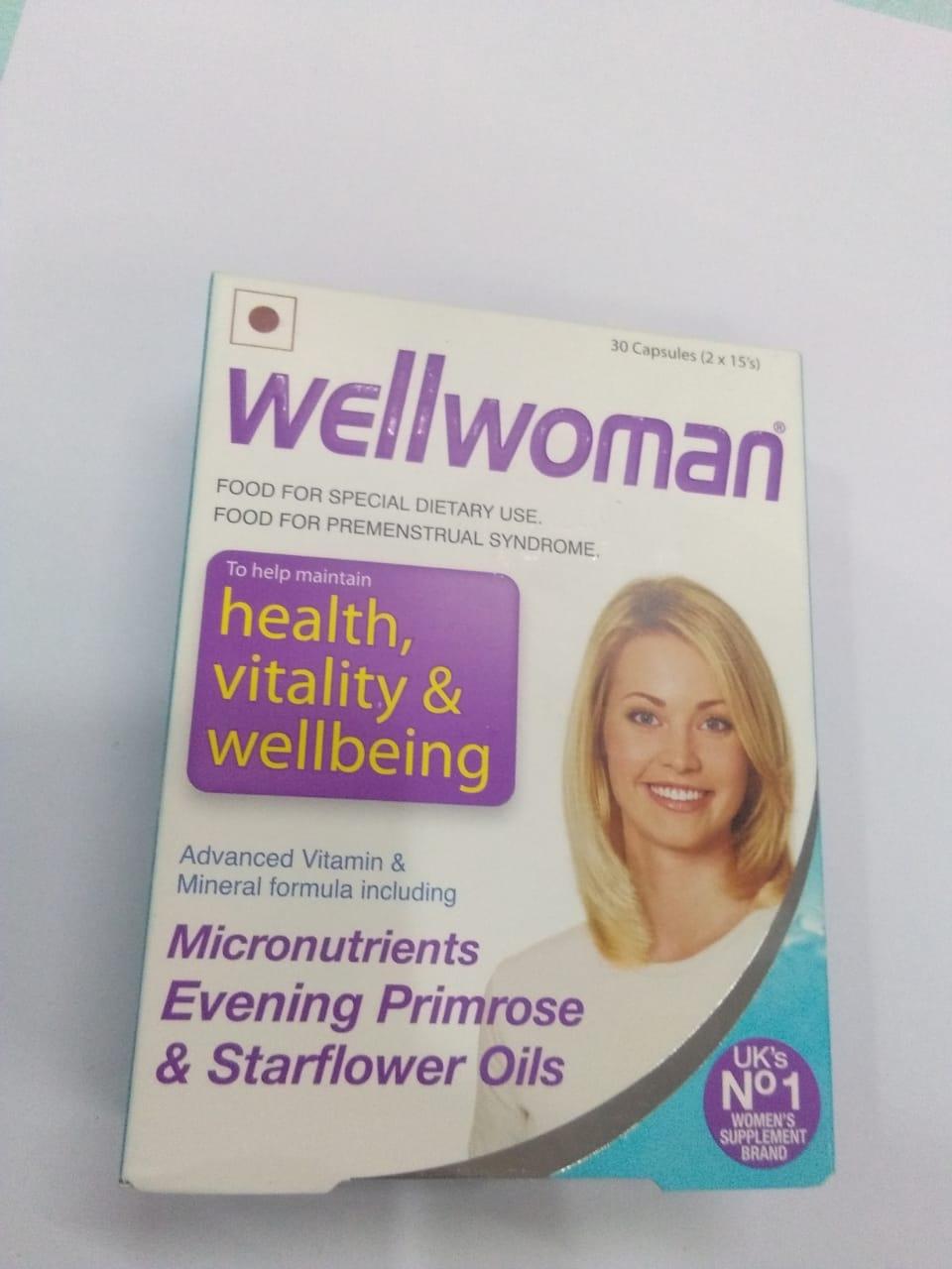 Wellwoman health vitality wellbeing