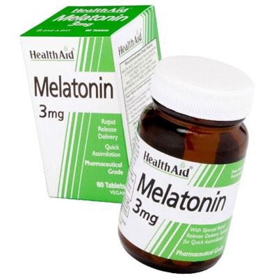 Health Aid Melatonin 3mg 60Tabs