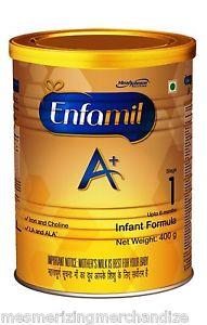 Enfamil A plus Stage 1 Infant Formula  400gm
