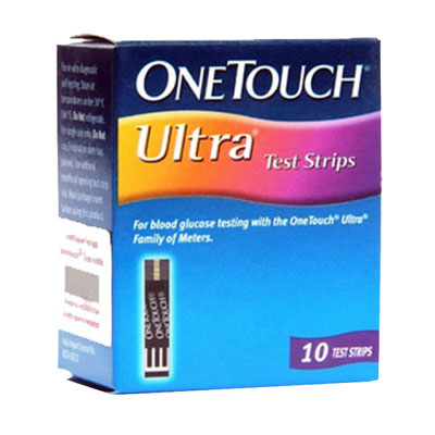 OneTouch Ultra Test Strips 10s