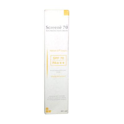 Screene 70 Sun Protection Cream SPF 70 Pa Plus 40ml