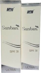 Sunban Ultra SPF 31 gel 60gm
