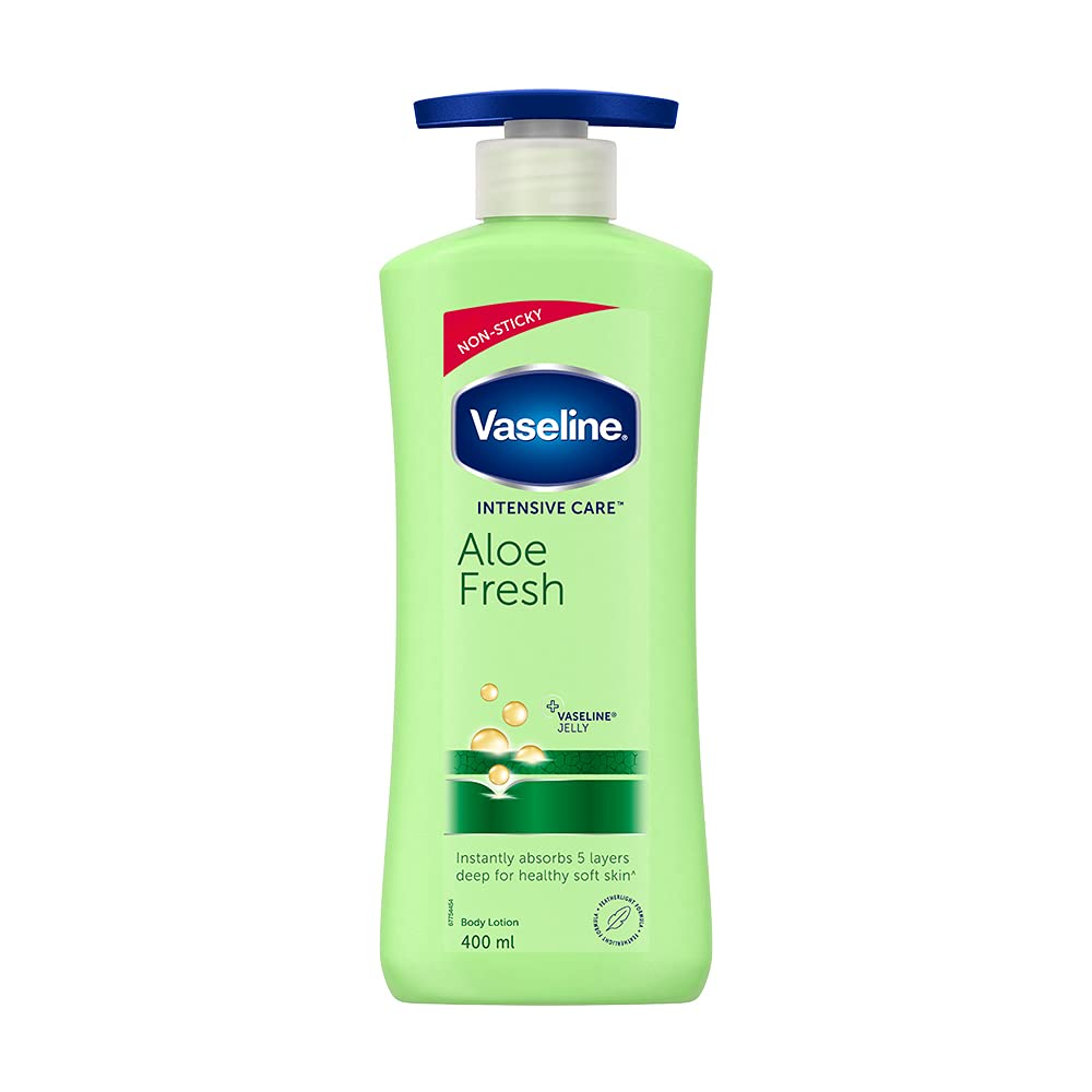 Vaseline Aloe Fresh body lotion 400ml