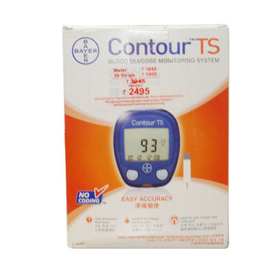 Bayer Contour TS Meter Glucomet