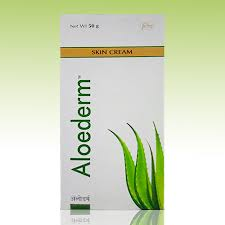 Aloederm  skin cream 50g pack of 2