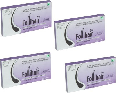 Follihair New Tablets 10'S PACK OF 4