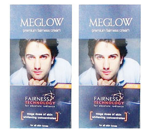 Meglow Fairness 50 gm pack of 2