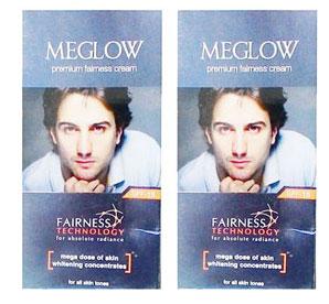 Meglow Fairness 50 gm pack of 2