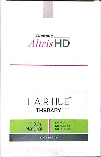 Altris HD Hair Hue Therapy Dark Black 50g