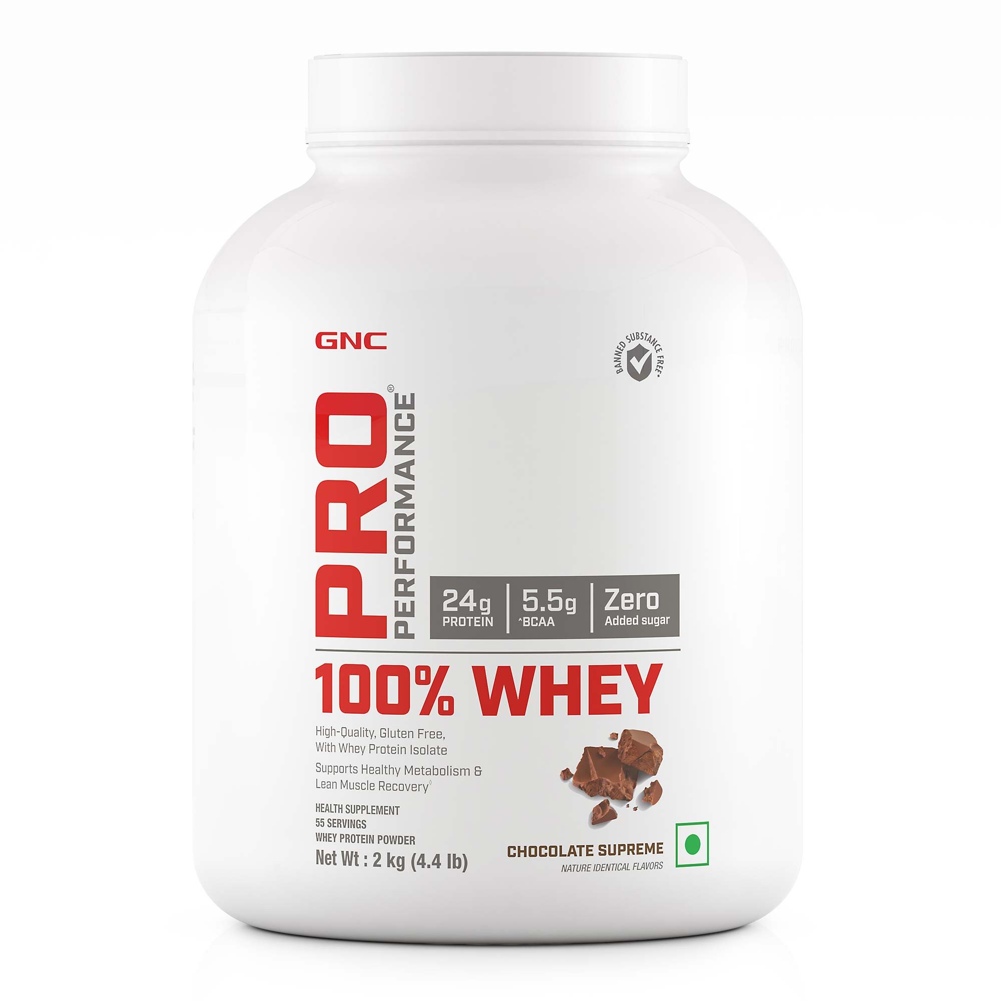 GNC Pro Performance 100%  Whey Protein  2 kg Chocolate Supreme