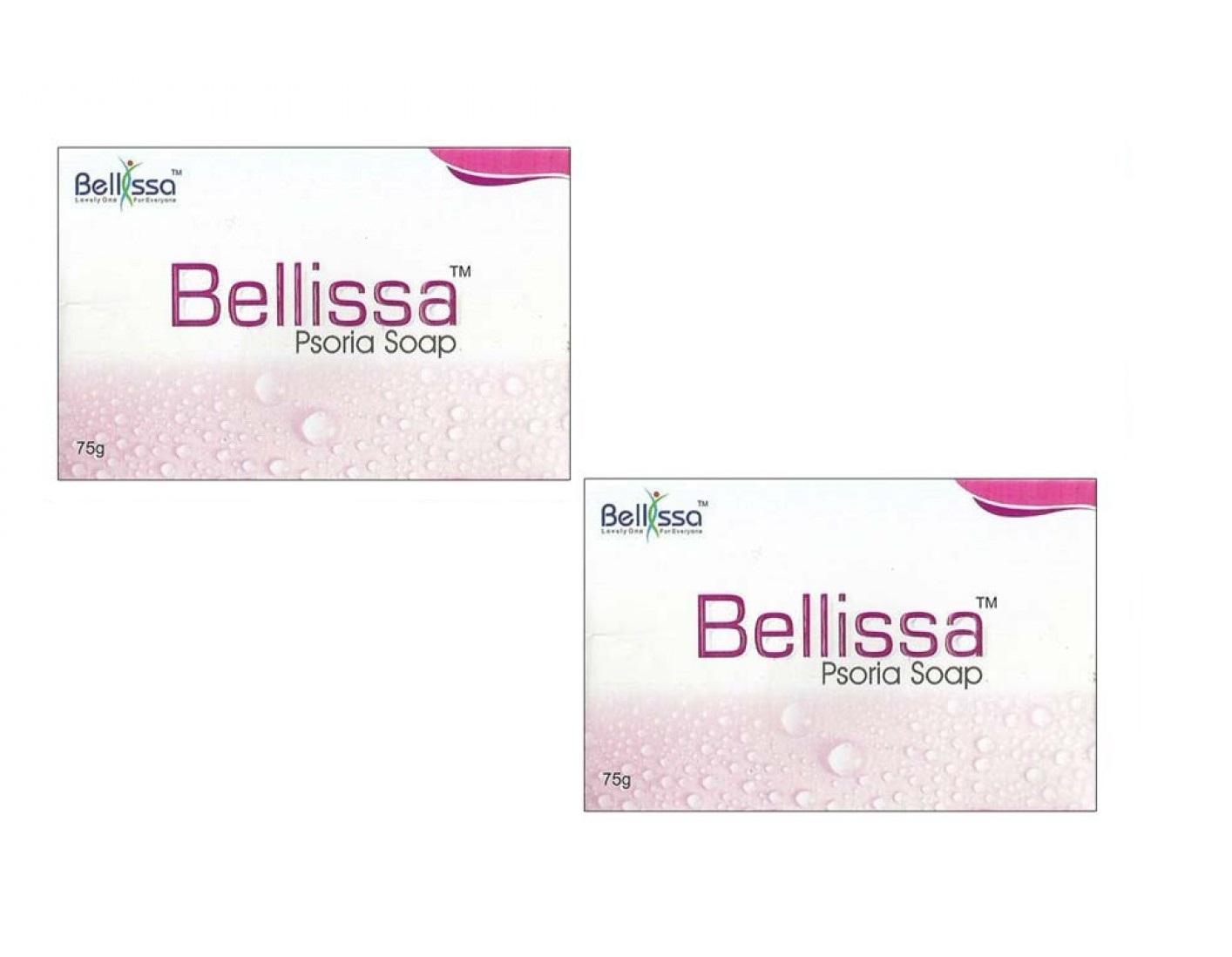 BELLISSA Psoria soap 75gm  Pack Of 2