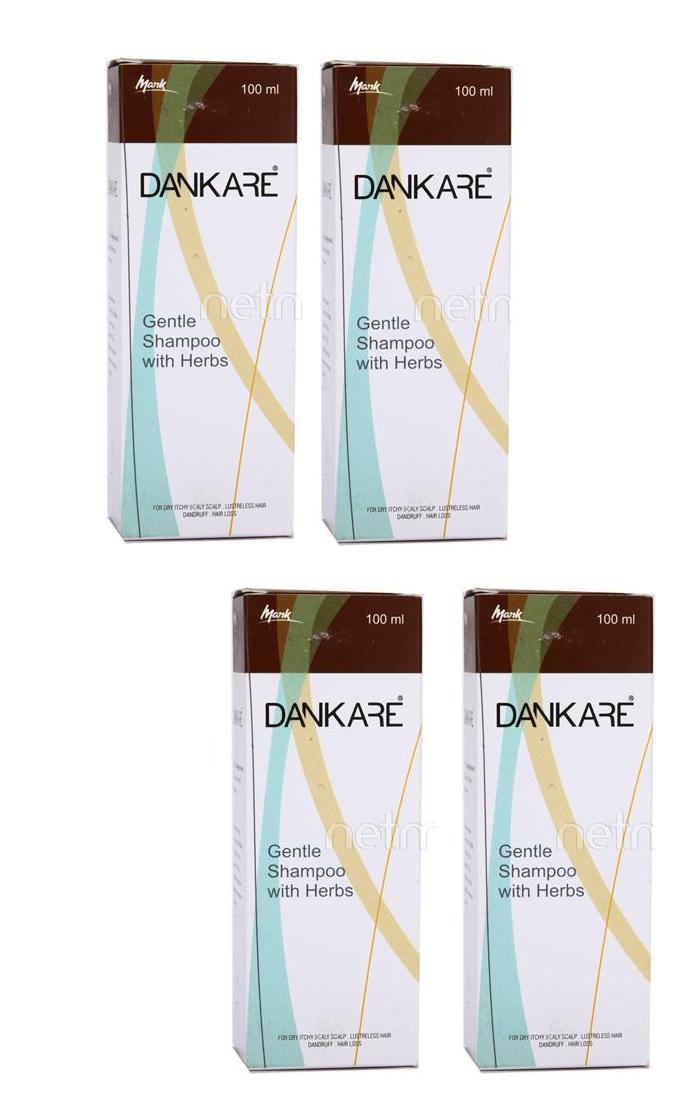 Dankare Gentle Shampoo 100 ml Pack Of 4
