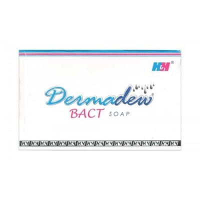 Dermadew Bact Soap 75g Pack of 4