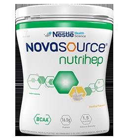 NOVASOURCE Nutrihep Vanilla Flavour 400g
