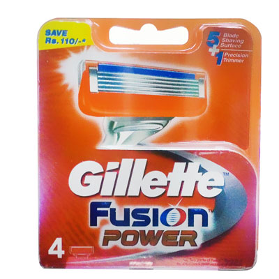 Gillette Fusion Power 4