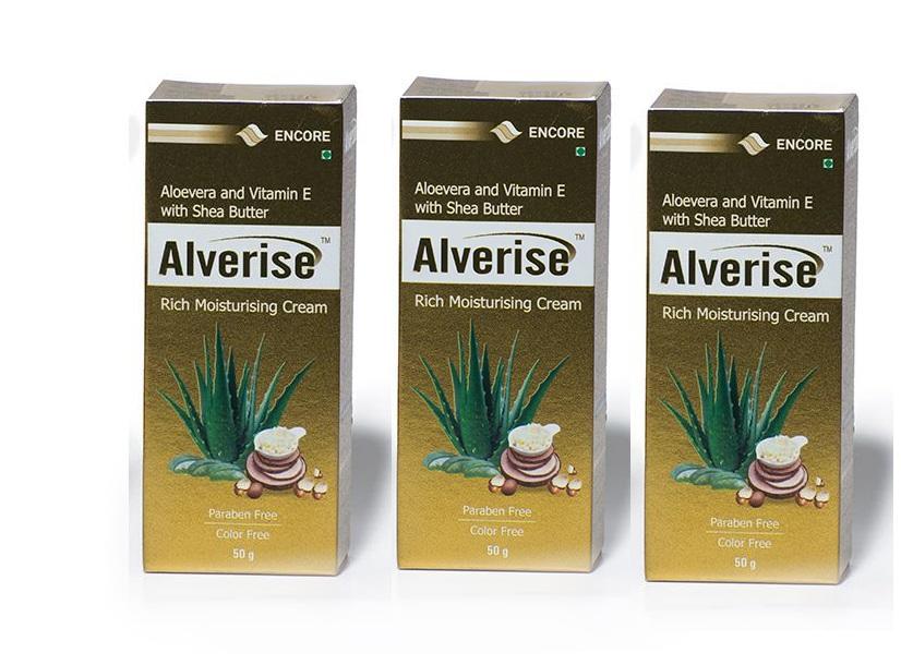Alverise Cream 50G pack of 3