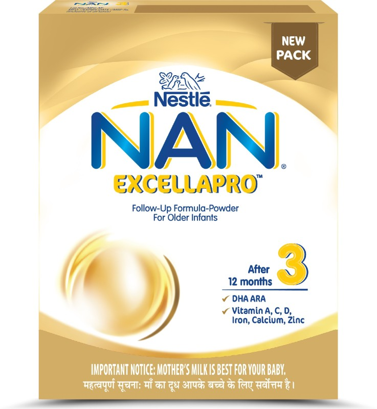 Nestle Nan Excella Pro Followup Formulapowder Stage 3400 g 12 Months