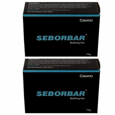 Seborbar Bathing Bar 75g pack of 2