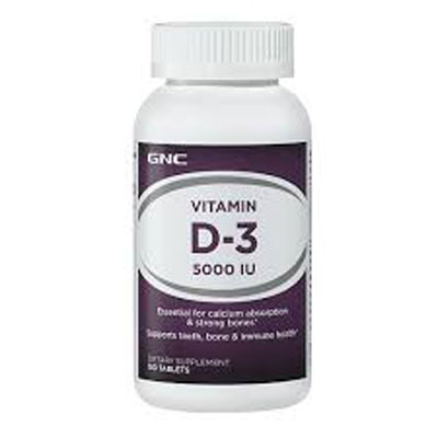 GNC Vitamin D3 1000 IU 180 Tablets