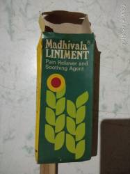 Madhivala LINIMENT Pain Reliever and Soothing Agent