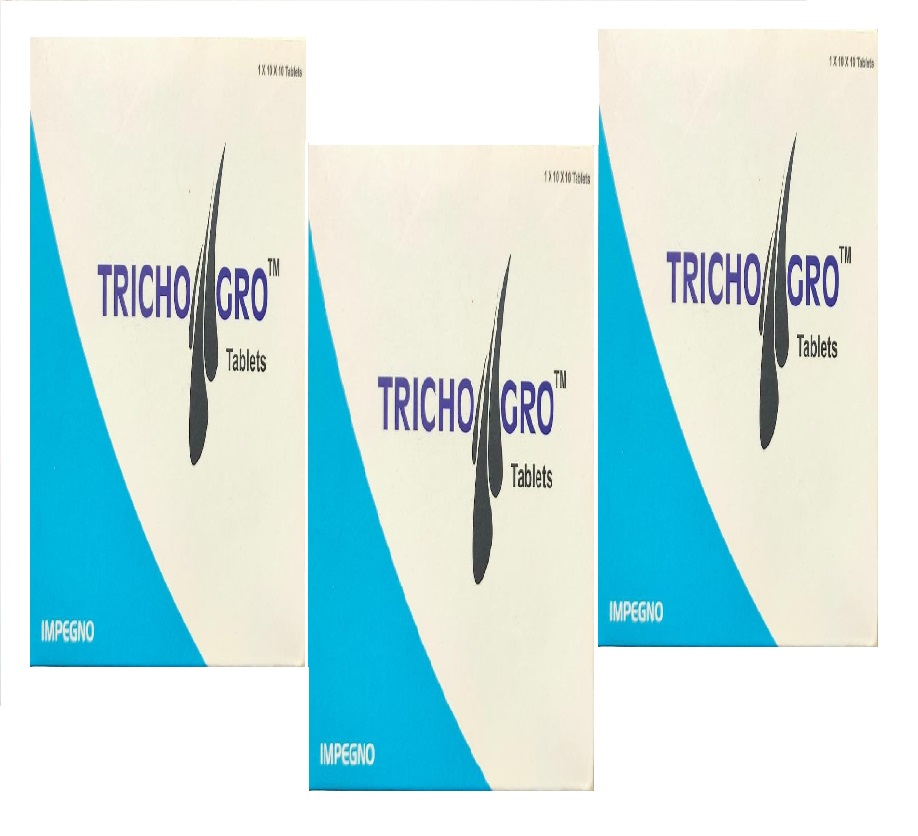 Trichogro Tablet Pack Of 3