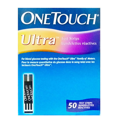 OneTouch Ultra Test Strips 50