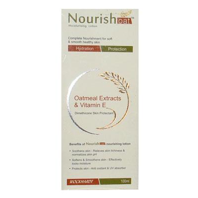 Nourish Oatmeal Extracts Vitamin E moisturizing lotion 100ml
