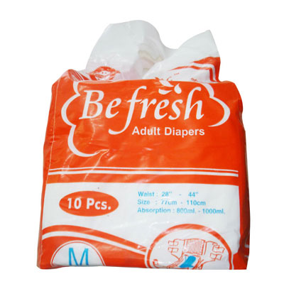 Befresh Adult Diapers Medium