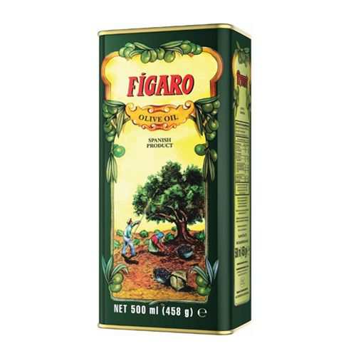 Figaro Olive Oil Tin  500ml Pack of 2