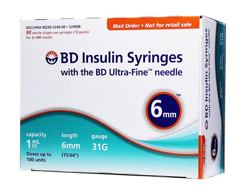 BD Ultra fine pen Needles  insulin pack of 100
