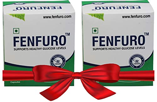 Fenfuro 30 Capsules Supports Healthy Glucose Levels (Pack of 2)