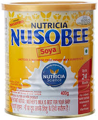 NusoBEESoya up to 24 months Infant Formula Tin  400 g