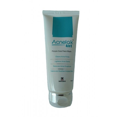 ACNELAK 4 in 1 PIMPLE CARE FACE WASH 100ml