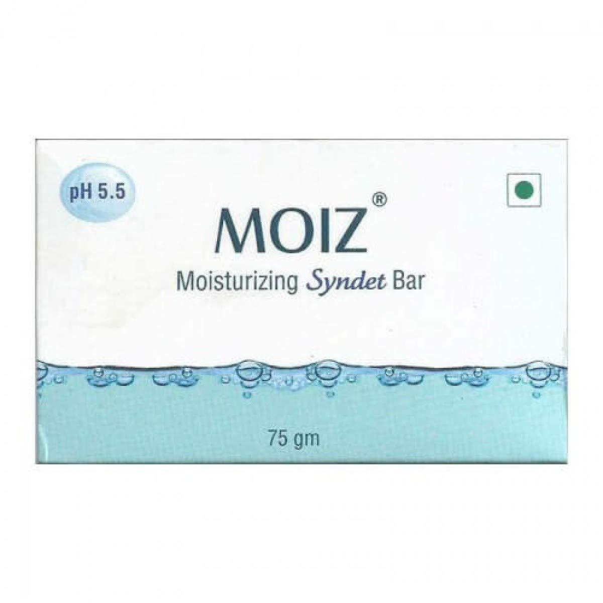 Moiz Moisturizing Syndet Bar 75gm